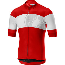 Castelli Ruota FZ Jersey Men red